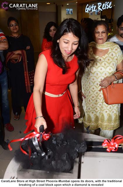 CaratLane jeweller has opened its 1st store in Mumbai at High Street Phoenix