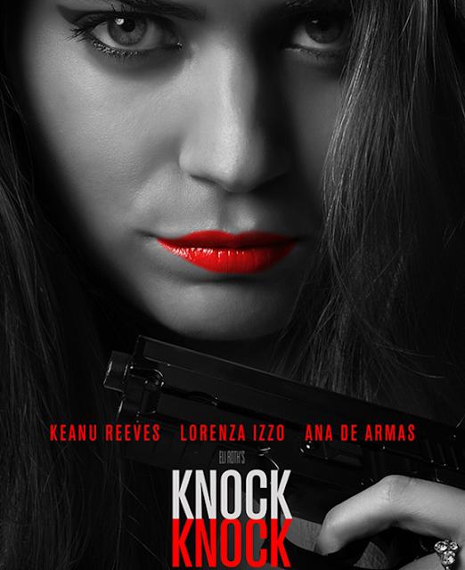 Lorenza Izzo şi Ana De Armas îl sechestrează pe Keanu Reeves în thrillerul Knock Knock