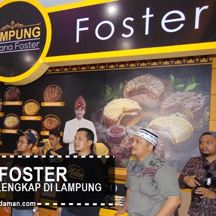 Menghadiri Tasyakuran Pabrik Banana Foster dan Peresmian Pusat Oleh-Oleh Terlengkap di Lampung