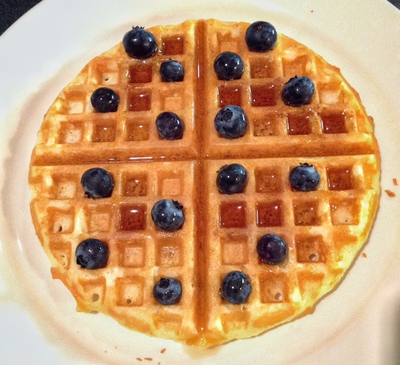 Overnight Yeasted Waffles America S Test Kitchen