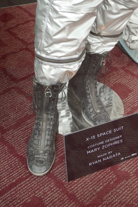 First Man X15 spacesuit boots