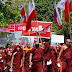 Hundreds of extremist Buddhists in Myanmar protest Rohingya citizenship plan