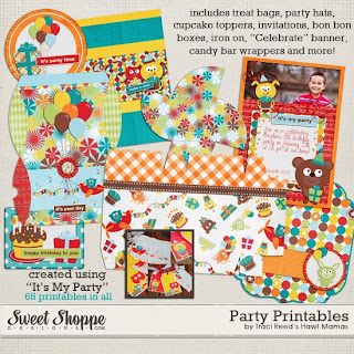 Cute Bear Free Printable Party Pack.