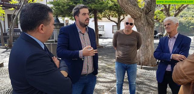 El Cabildo realizará mejoras en el entorno del Santuario de Las Nieves