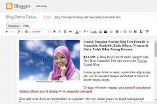 Cara Membuat Postingan Baru di Blogspot