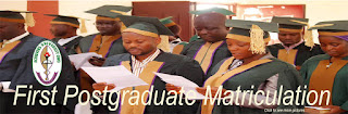 PHOTOS: Achievers University Matriculates 1st Postgraduate Students for 20172018
