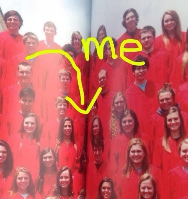 26 Times Life Went Unbelievably Wrong - 'That's my senior high school yearbook.'
