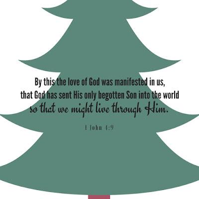 Why Was Jesus Born? 1 John 4:9 So we could live through Him   scriptureand.blogspot.com
