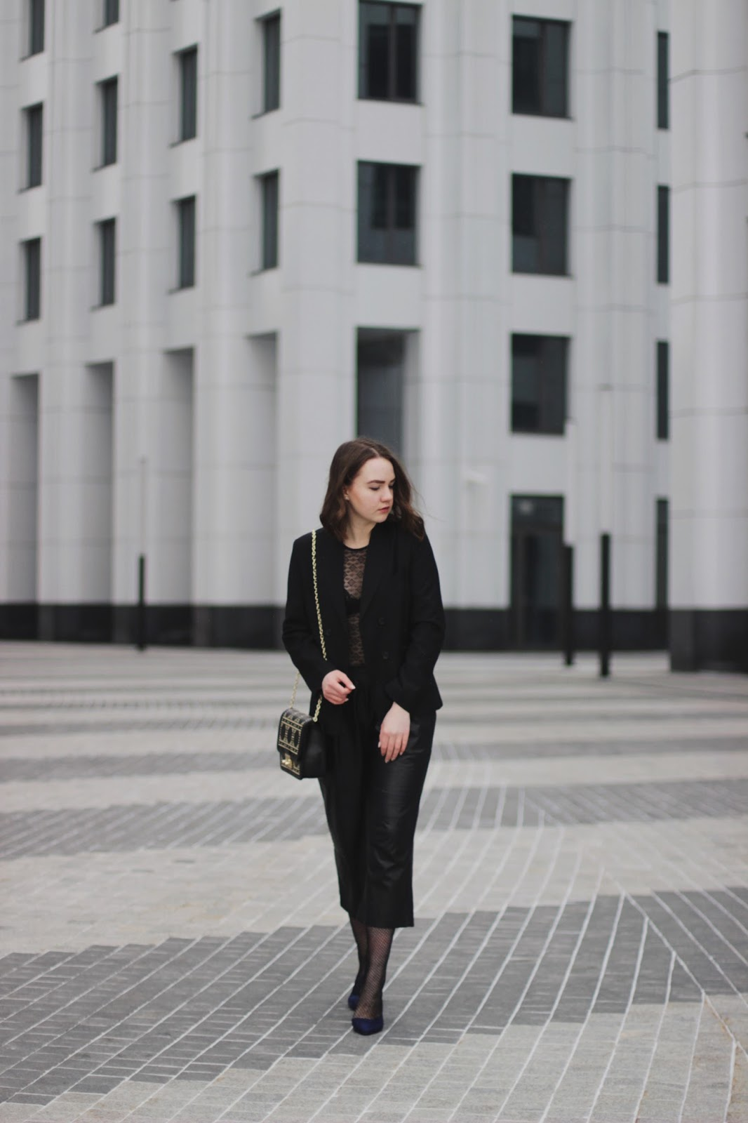 Black Blazer Outfit | Fashion Blogger