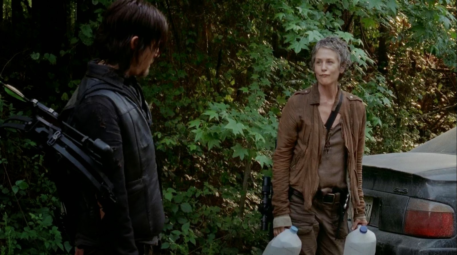 Carol y Daryl buscarán a Beth. The Walking Dead AMC