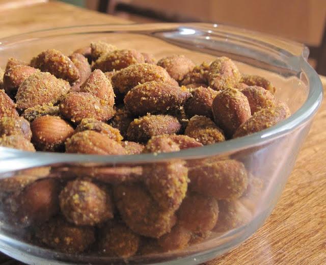 how to make seasoned almonds