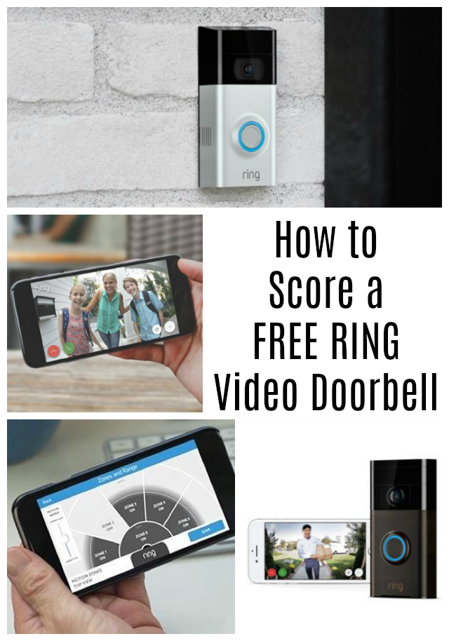 Score a FREE Ring Video Doorbell