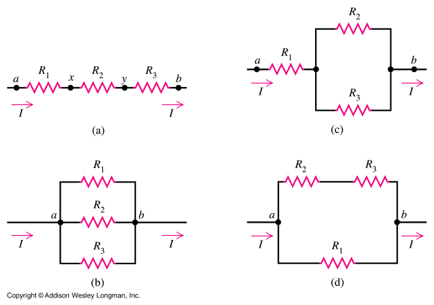Highschool Physics: ELECTRONICS- RESISTERS-series¶llel