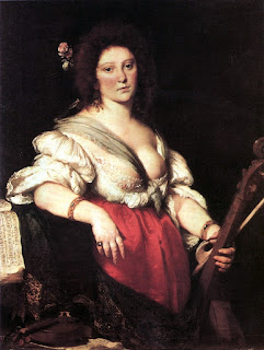 Bernardo Strozzi's painting The Viola da Gamba Player, is said to be Barbara Strozzi