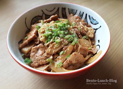 Rezept: Sojaschnetzel mit Bambus (General Tso's Chicken inspiriert)
