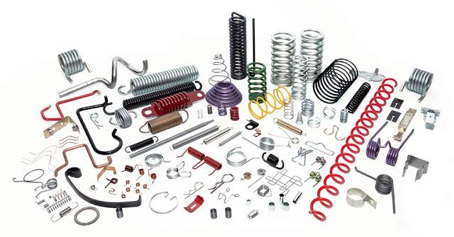 MBI menyediakan berbagai macam jenis sperpart Per Pegas Tekan, Per Tarik, Per Torsi, Per Pegas Puntir, Wire Frame, serta Menerima Pembuatan Pesanan Segala Macam Ukuran Per