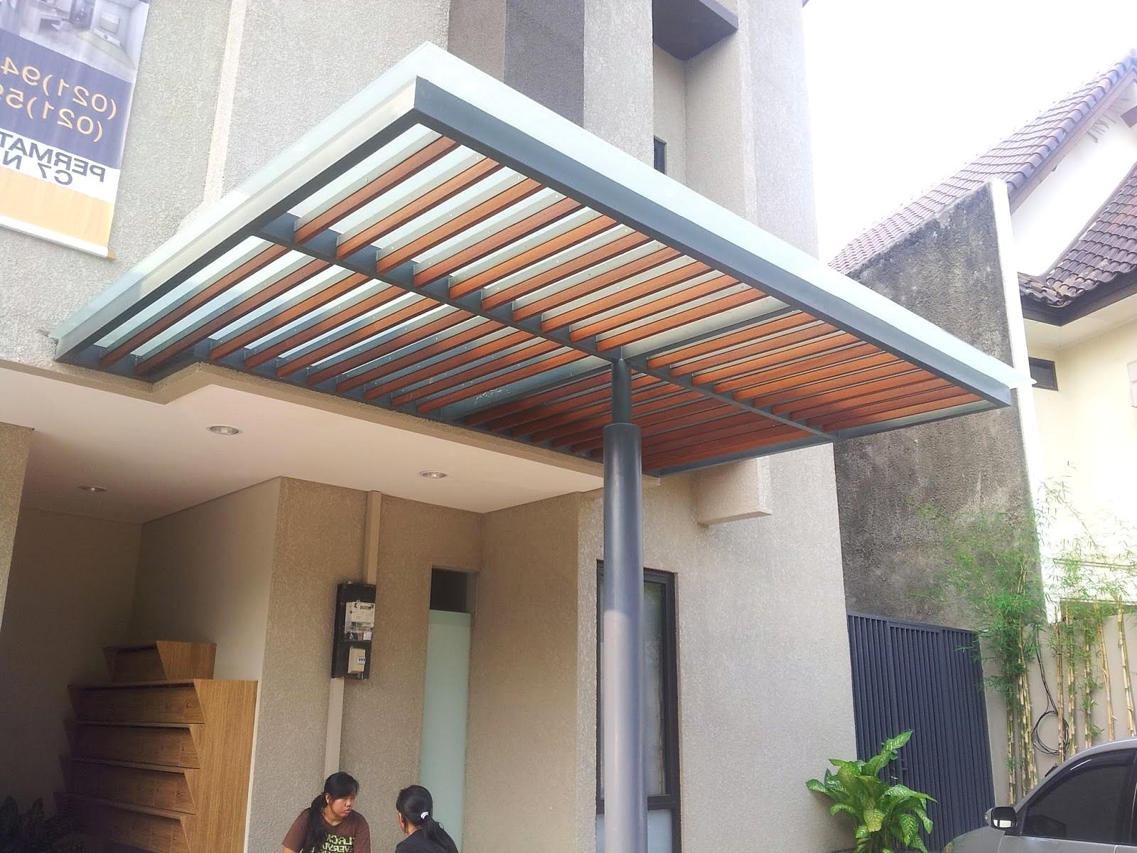 Model Teras Rumah Galvalum