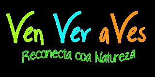 Logo tipo de Ven Ver aVes, senderismo ornitolóxico e interpretación ambiental