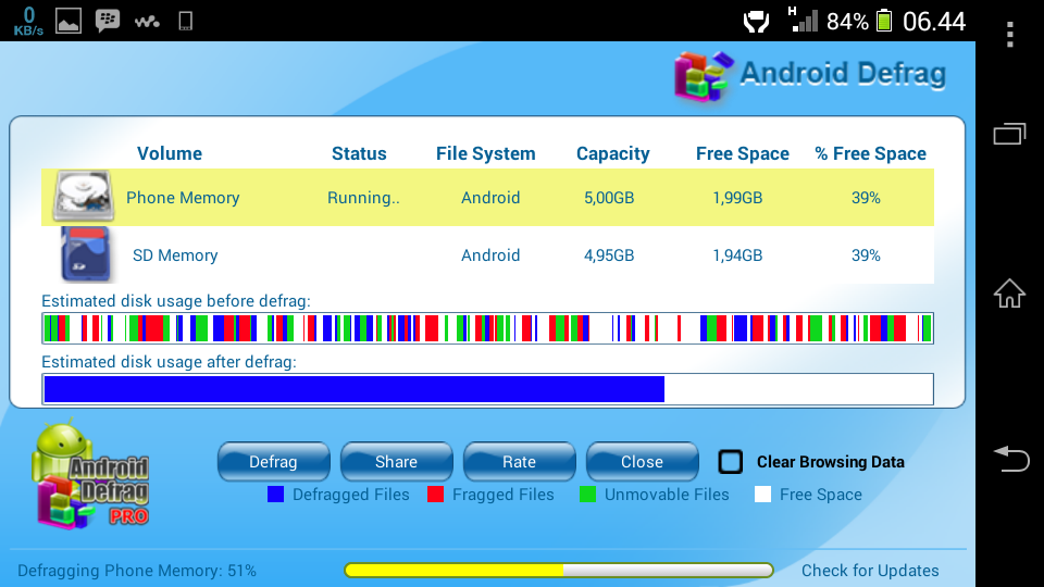 Android Defrag Pro Full Version