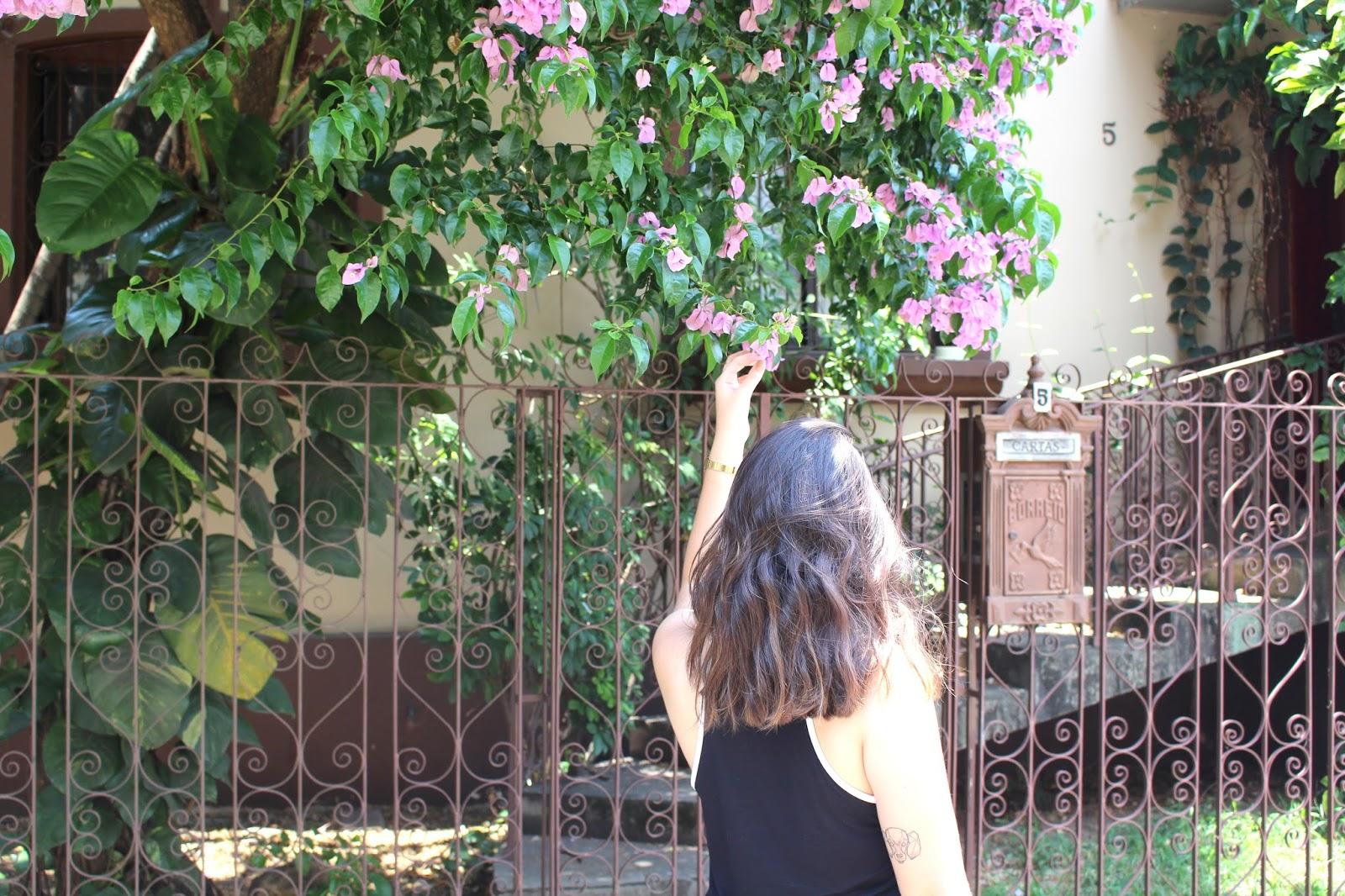 ana do dia flores garota mulher loira