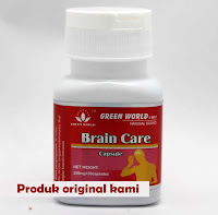 jual  Obat Brain care capsule Green World