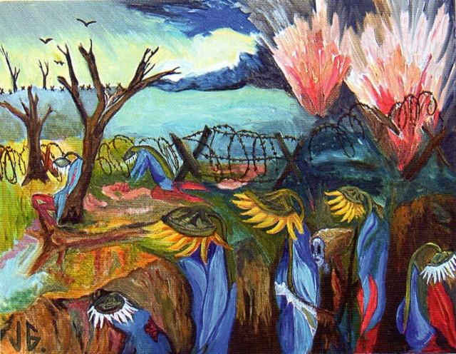 Существа из цветочного мира. Jacques Guignard 12