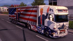 Donald Trump President pack SCania RJL (EviL)