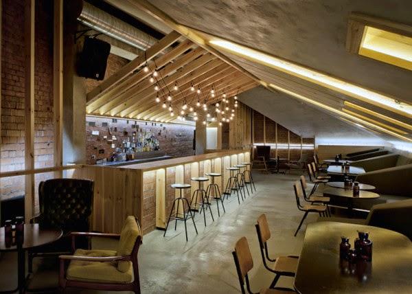 Cherdak Um Loft Bar Na Litu 194 Nia Larissa Carbone Arquitetura
