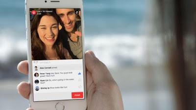 تنزيل جديد لفيس بوك تتيح للناشرين Facebookالبث المباشر عبر الويب