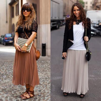Faldas para Señoras de 40 Años