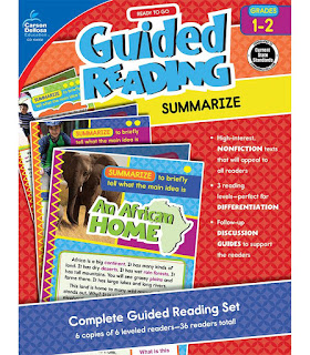 http://www.carsondellosa.com/products/104932--Guided-Reading-Summarize-Resource-Book-104932#/?book%20media%20type=f389e45b92884d48844baaf09d49e3c5