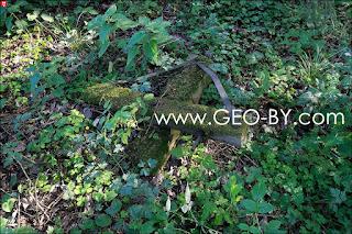 Обломок механизма в лесу у деревни Химороды