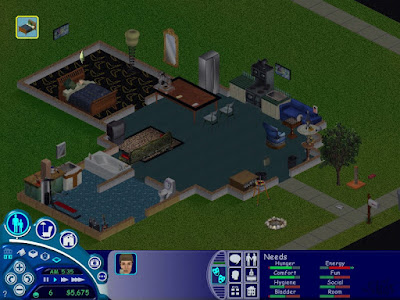 The Sims Game Screenshots 2000
