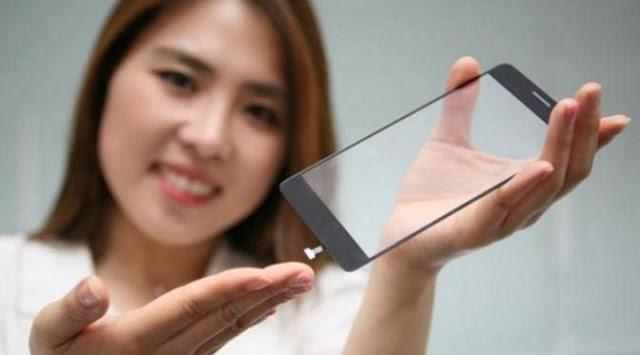 Smartphone LG generasi berikutnya akan memiliki sensor sidik jari di bawah layar TouchSreen