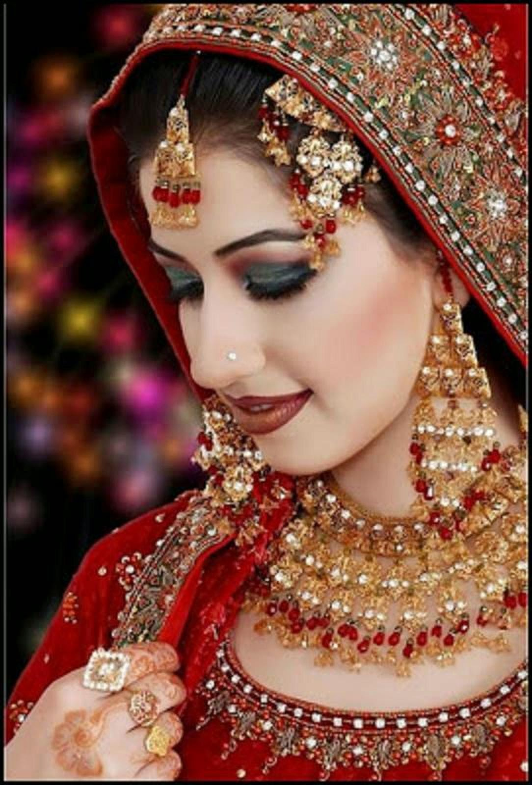 Beautiful And Pretty Bridal Makeup Wallpaper Free All Hd