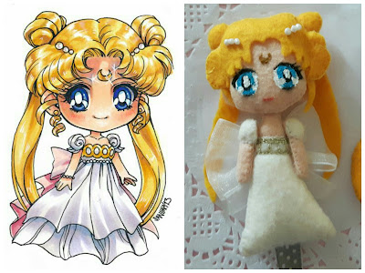 sailor moon bambola serenity segnalibro alice' Secret