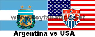 Argentina vs Estados Unidos 2016