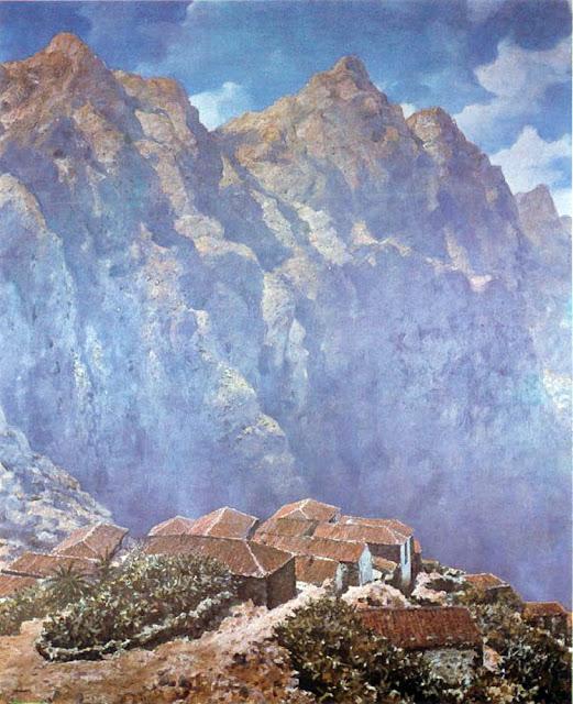 Manuel Martín González, Paisajistas españoles, Paisajes de Manuel Martín, Pintor español, Manuel Martín, Pintores de Tenerife,  Pintores Canarios, Pintor Manuel Martín