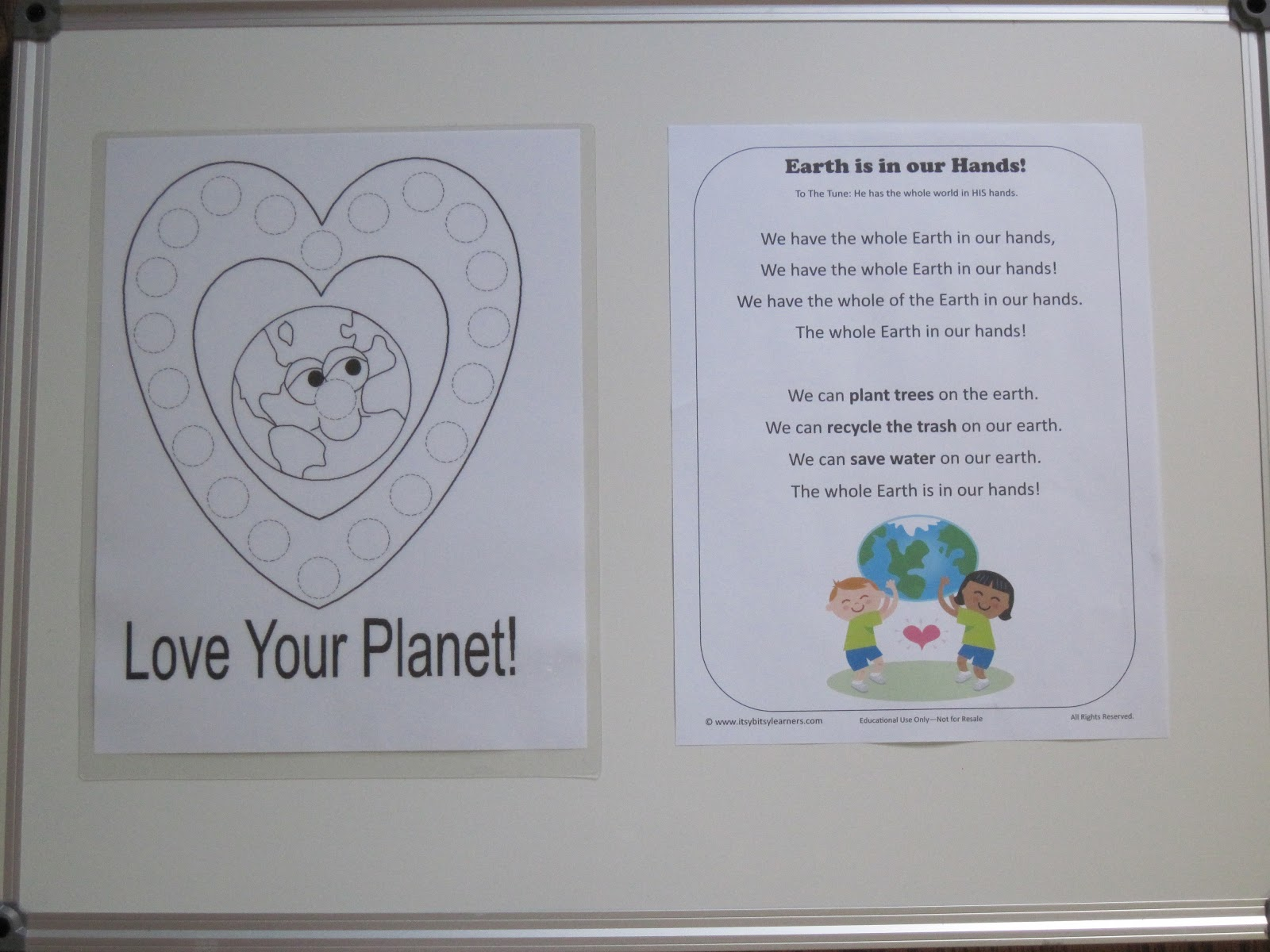 Glitter And Gluesticks Forever What On Earth Preschool Activities And Lesson Plans For Earth
