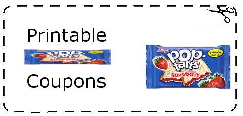 photo regarding Pop Tarts Coupons Printable named Kelloggs pop tarts coupon codes printable : No cost things discount codes canada