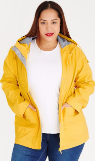 stylish plus size jackets, what's new at spree plus size,plus size raincoat