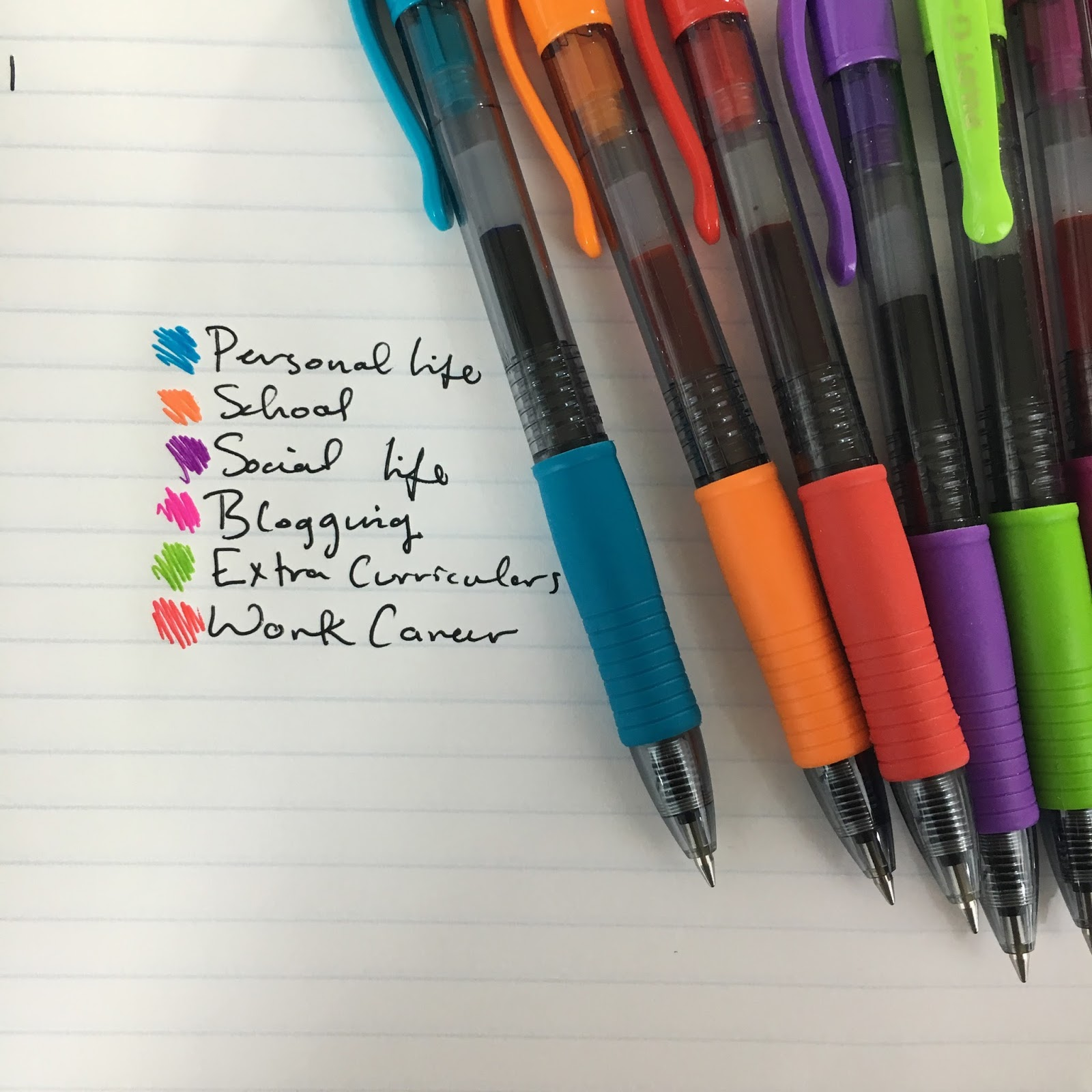 How to color code your planner without losing your mind for Color coding planner