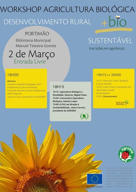 Workshop gratuito de agricultura biológica em Portimão