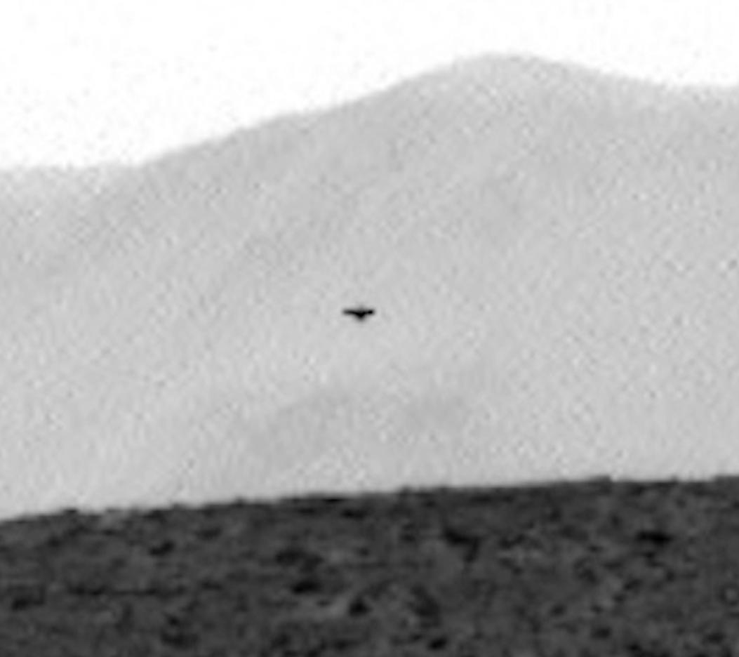 UFO SIGHTINGS DAILY: Dark UFO On Mars Caught By Curiosity ...