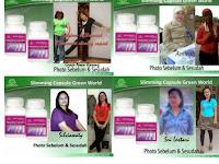 Testimoni slimming capsule green world