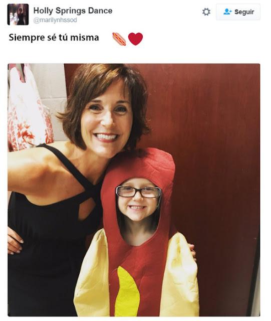 En un mundo de princesas, esta niña eligió ser ¡un hot dog!
