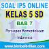 Soal IPS Online Kelas 5 ( Lima ) SD Bab 7 Persiapan Kemerdekaan Indonesia - Langsung Ada Nilainya