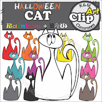 https://www.teacherspayteachers.com/Product/Halloween-Cat-Clip-Art-2777527