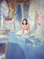 Helen Frankenthaler | female artists | Discover great women artists at http://schulmanart.blogspot.com/2011/06/ten-women-artists-every-young-girl.html