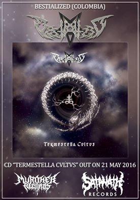 Detail from Bestialized New Album, Termestella Cvltvs, Detail from Bestialized New Album Termestella Cvltvs